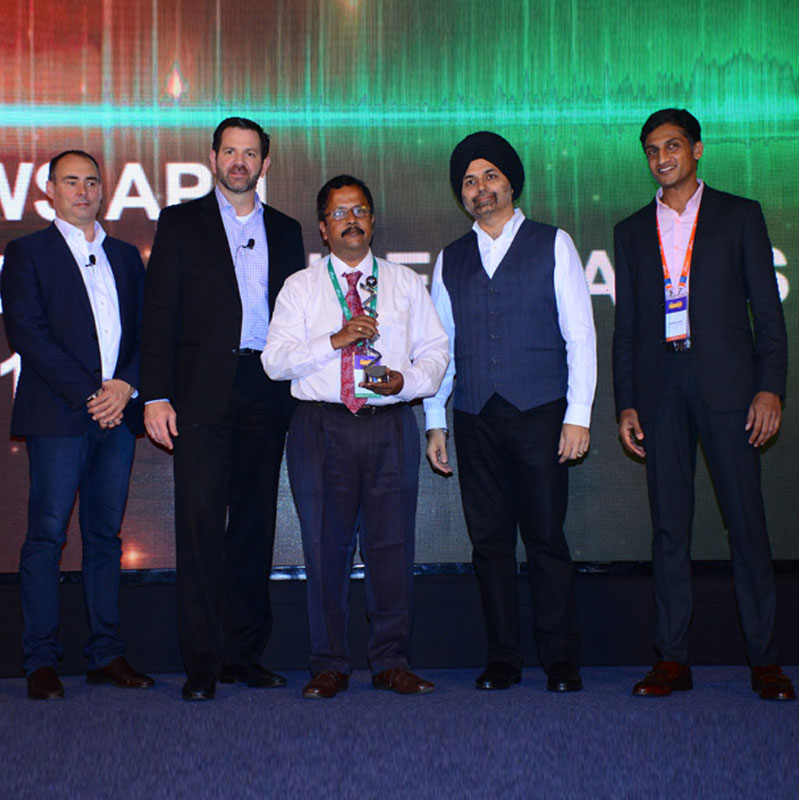 AWS award for Sales Excellence